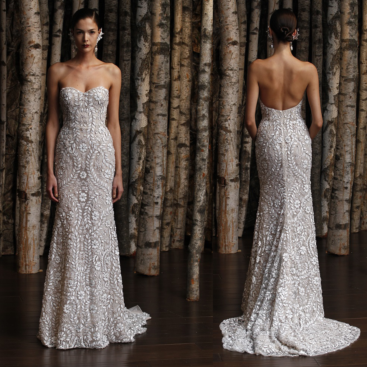 Disenadores de moda famosos vestidos de novia – Moda Española moderna