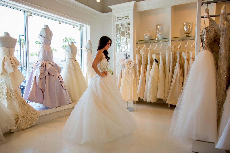 Wedding Broker prueba vestido