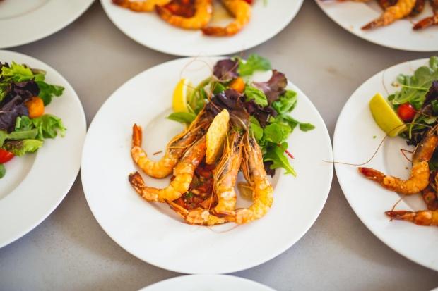 French wedding food dordogne