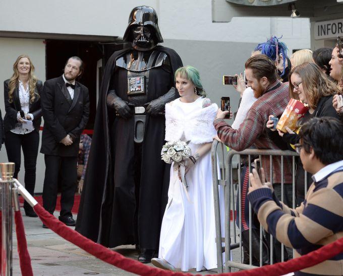 Wedding Broker star wars digitalspy