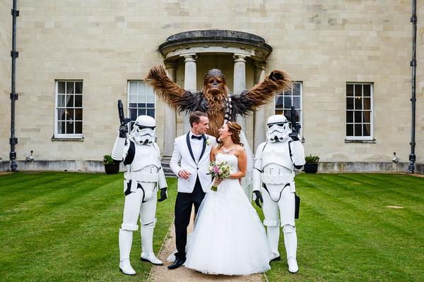 Wedding Broker star wars mrspandp
