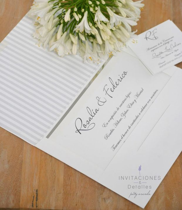 Wedding Broker Invitaciones y detalles 2