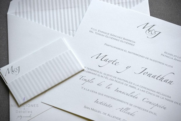 Wedding Broker invitaciones y detalles